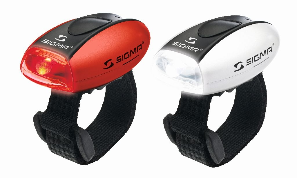 Sigma Sport LED-Lichtset weiss + rot MICRO LED weiss /rot - Bikedreams & Dustbikes
