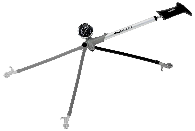 GIYO Federbeinpumpe mit Manometer bis 21 bar - Bikedreams & Dustbikes
