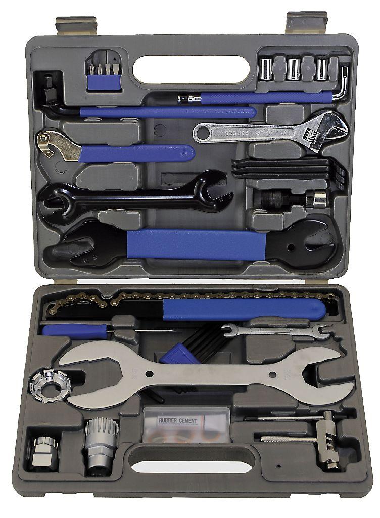 M-WAVE Werkzeugkoffer 43 teilig - Bikedreams & Dustbikes