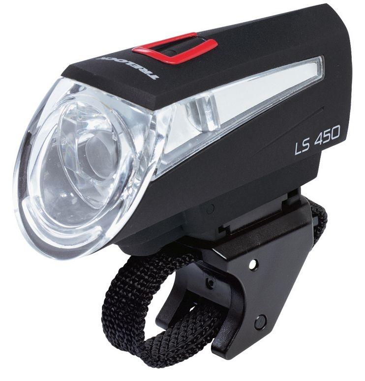 Trelock LED Vorderlicht LS 450 SPORTLINE FB schwarz - Bikedreams & Dustbikes
