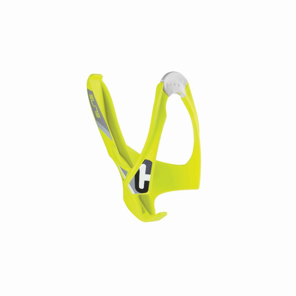ELITE Flaschenhalter CANNIBAL neon-gelb mit schwarzer Grafik - Bikedreams & Dustbikes