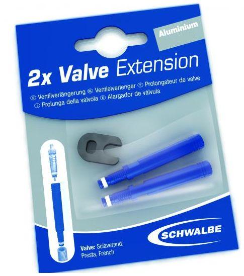 Schwalbe Ventilverlängerung für Sclaverandventil 17 mm VE 2 Stück - Bikedreams & Dustbikes
