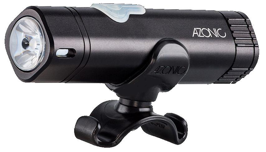 Azonic LED-Licht weiss HOSS LED front schwarz - Bikedreams & Dustbikes