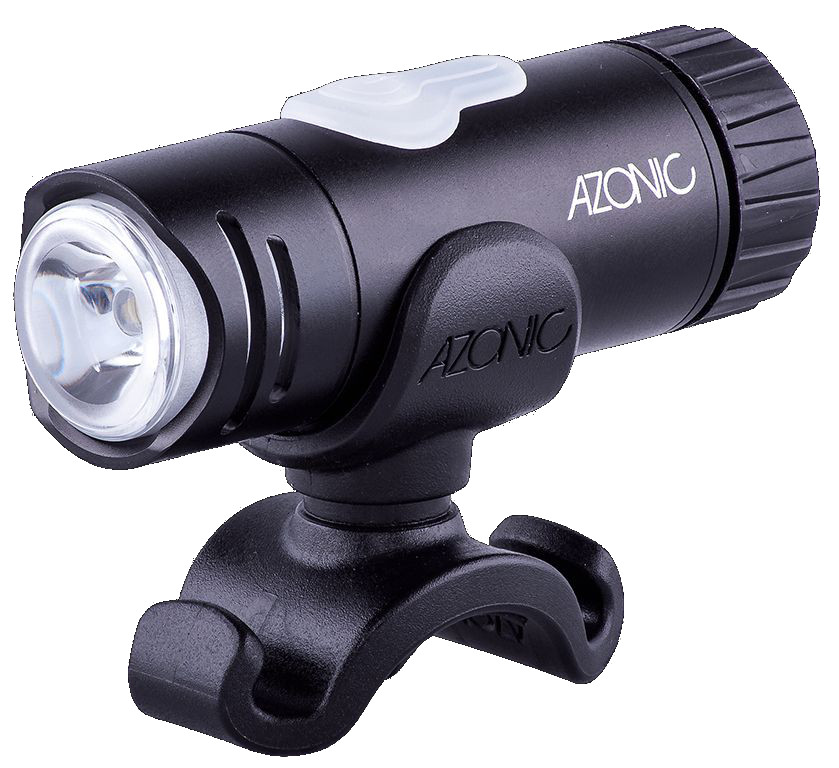Azonic LED-Licht weiss LITTLE JOE LED front schwarz - Bikedreams & Dustbikes