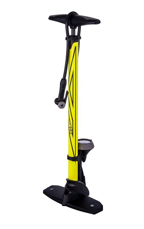 Azonic Standpumpe Riva DV neon gelb - Bikedreams & Dustbikes