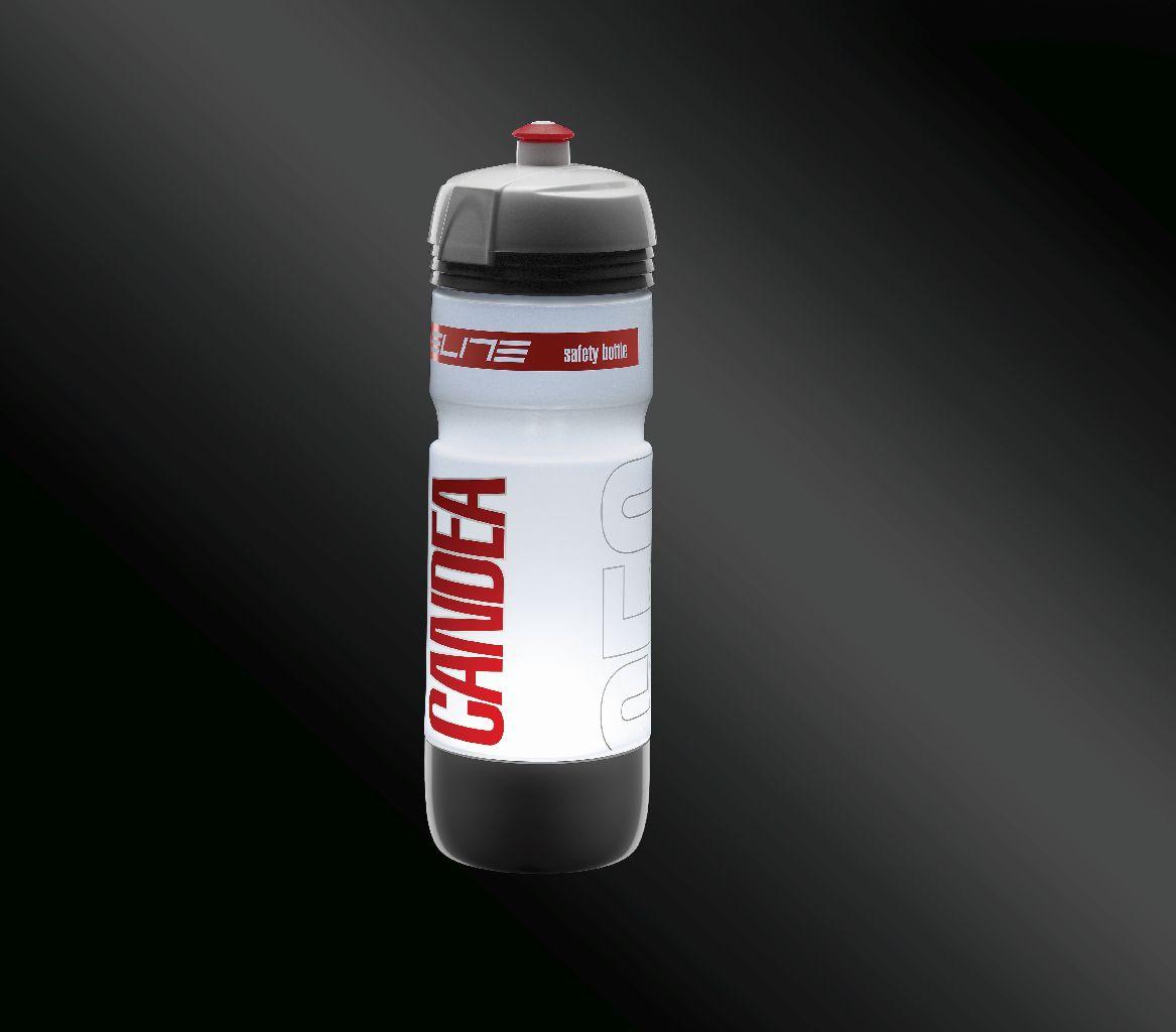ELITE Flasche CANDEA Leucht-Trinkflasche 650 ml - Bikedreams & Dustbikes