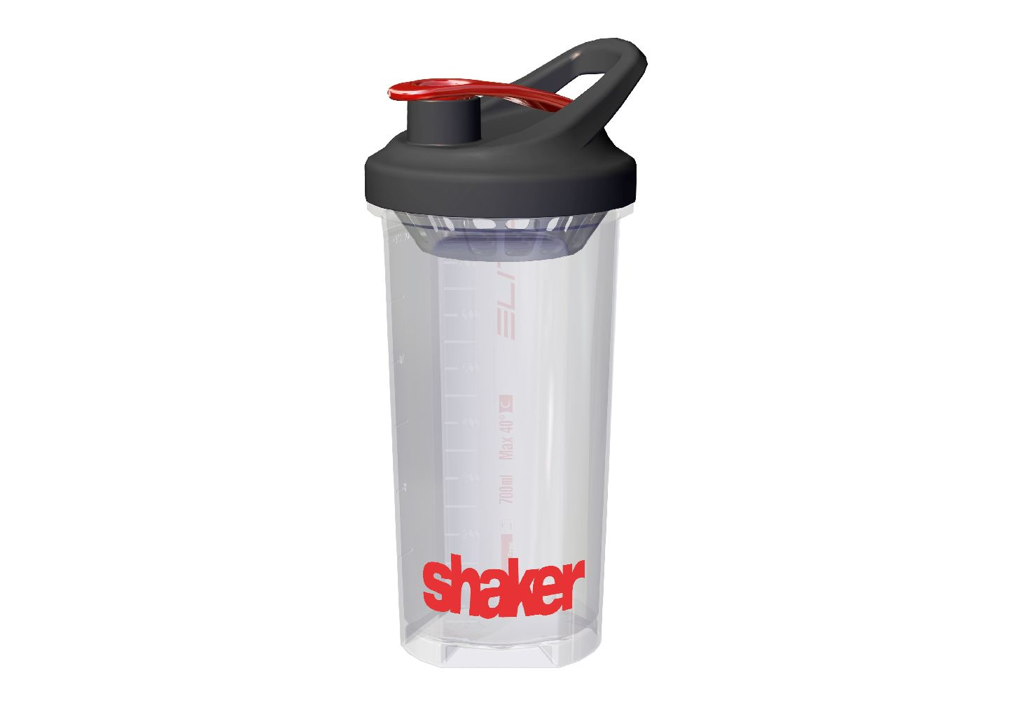 ELITE Flasche SHAKER 700ml - Bikedreams & Dustbikes