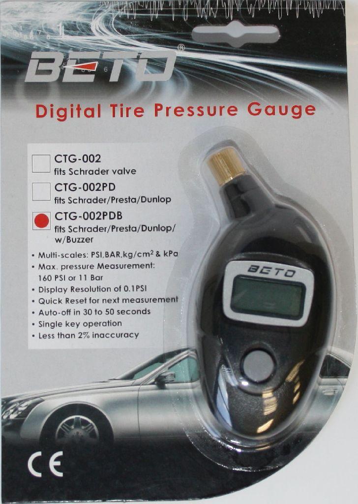 BETO Luftdruckprüfer digital NUR für SV Ventile - Bikedreams & Dustbikes