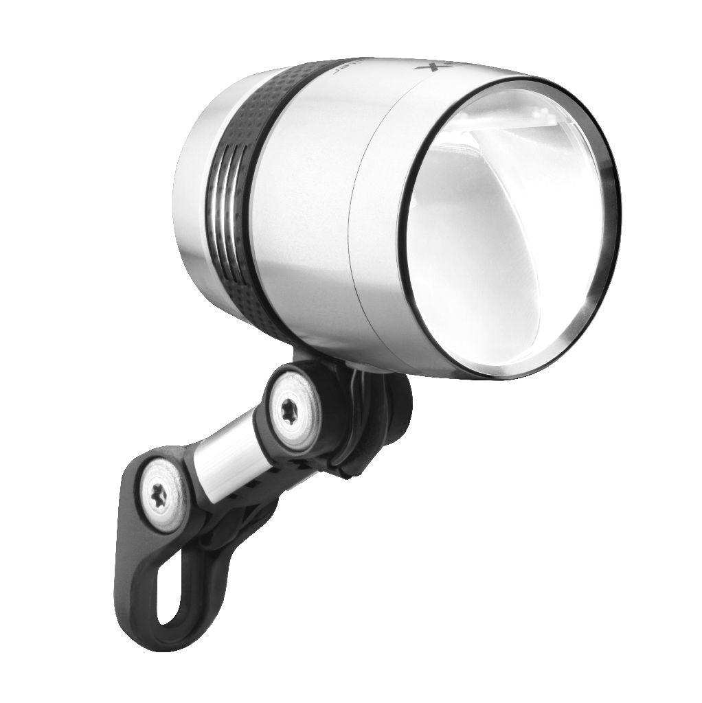B&M Frontlicht LUMOTEC IQ-X silber - Bikedreams & Dustbikes