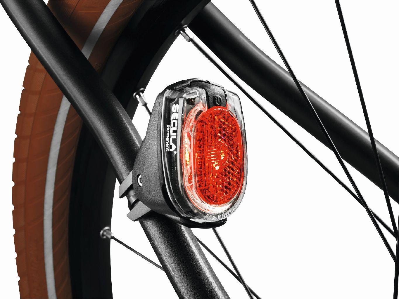 B&M Diodenr�cklicht SECULA permanent Batterie Sattel- oder Seitenstrebenmontage - Bikedreams & Dustbikes