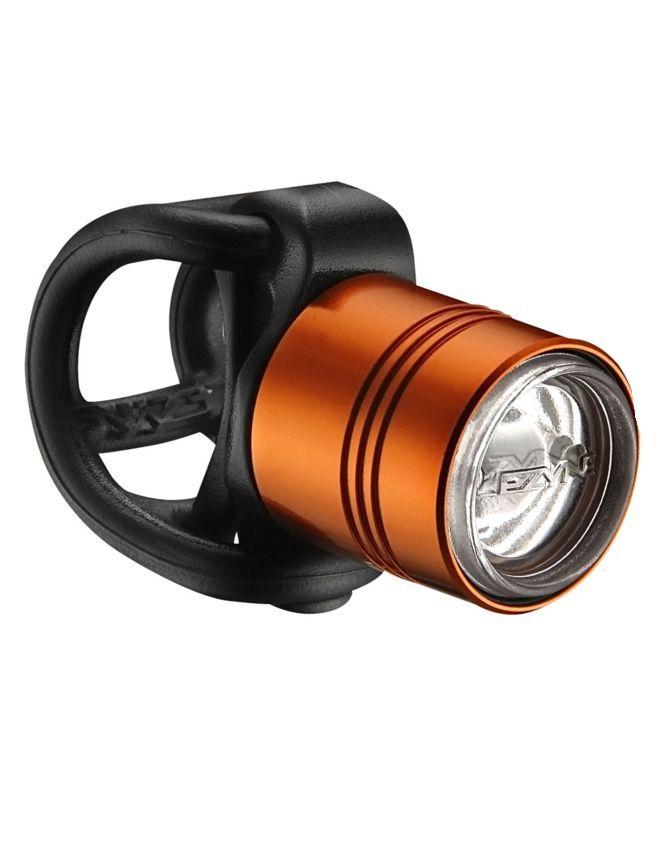 LEZYNE LED weiss FEMTO DRIVE orange - Bikedreams & Dustbikes