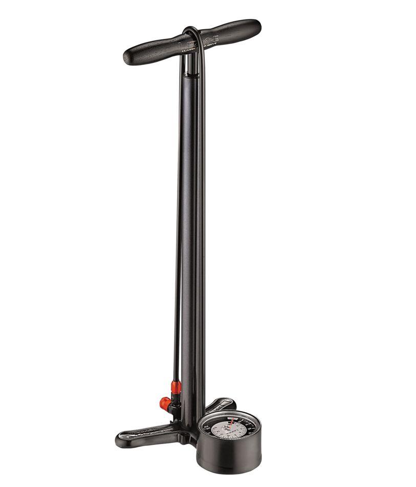 LEZYNE Standpumpe CLASSIC FLOOR DRIVE schwarz-metallic - Bikedreams & Dustbikes