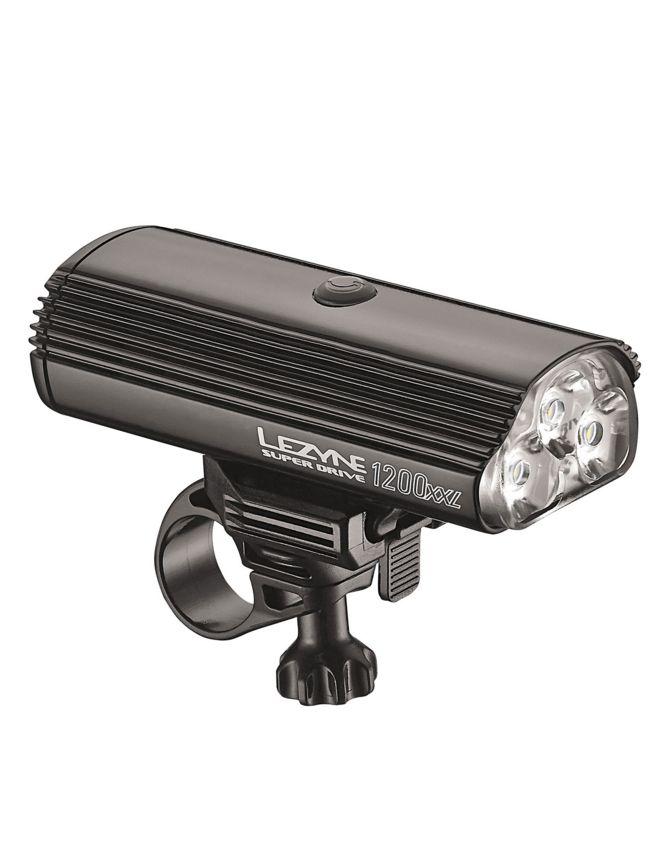 LEZYNE LED weiss SUPER DRIVE 1200 XXL schwarz - Bikedreams & Dustbikes