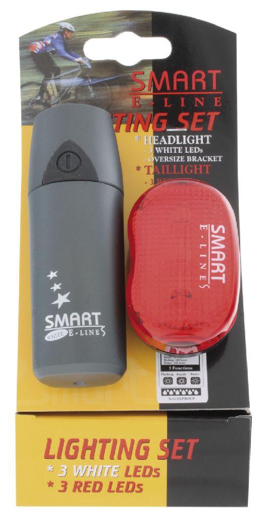 SMART LED-Lichtset weiss + rot Polaris 3 + RL-403-R - Bikedreams & Dustbikes